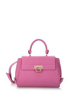 Shoulder Bag for Women On Sale, fuxia, Leather, 2017, one size Salvatore Ferragamo