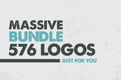 MASSIVE BUNDLE 576 Vintage Logos by DesignDistrict on Creative Market - for just $20 you can have this massive selection.