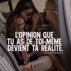 L'opinion que tu as de toi-même devient ta réalité. Aime et commente si tu es d'accord! ➡️ @freshsnd for more!