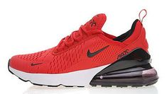 low priced 5775f 0b685 Nike Air Max 270 Rosso Nero Bianca AH8050 600