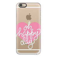 iPhone 6 Plus/6/5/5s/5c Case - Oh Happy Day ($40) ❤ liked on Polyvore featuring accessories, tech accessories, phone cases, phone, iphone case, apple iphone cases and iphone cover case
