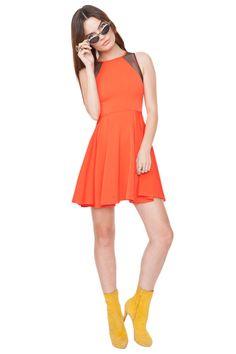 Red Siren Dress from Haute Attitude #haute #red #fashion #style