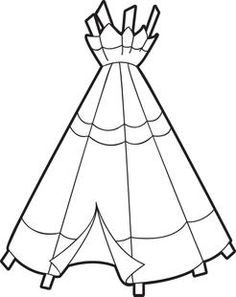 Teepee Coloring Page Make your world more colorful with free printable coloring pages from italks. Our free coloring pages for adults and kids. Thanksgiving Coloring Pages, Thanksgiving Crafts, Coloring Sheets For Kids, Coloring Book Pages, Kids Coloring, Indian Teepee, Indian Quilt, Pilgrims And Indians, Tribal Theme