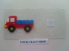 Hama perler bead truck pattern