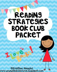 FREE!!!! Reading strategies book club/literature circle packet!!! Repinned by SOS Inc. Resources. Follow all our boards at pinterest.com/sostherapy for therapy resources.