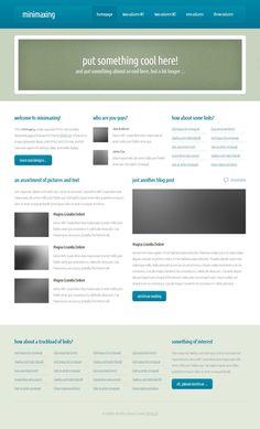 html5 - minimaxing