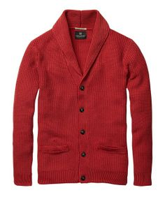 High Twist Cotton Cardigan > Mens Clothing > Pullovers at Scotch & Soda