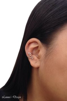 Silver Ear Cuff, Cuff Earrings, Simple Earcuff #ear #earcuff #earcuffs #cuffearrings #cuffearring #wireearrings #earrings #earrings #earpin #earpins #earwrap #earjacket #earclimber #cuffs #gift #cartillage #nopiercing #accessories #bridesmaids #bride #bridetobe #futuremrs #giftidea #jewelry #jewelries #accessories #handmade #etsyshop #youknowyouwantthis