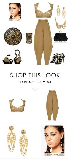 """""""Black and Gold"""" by chauert ❤ liked on Polyvore featuring Wanda Nylon, La Perla, Dolce&Gabbana and Kingsley Ryan"""
