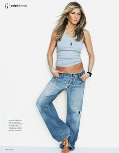 Celebs who can't stand Jennifer Aniston – Celebrities Woman Jennifer Aniston Style, Jennifer Aniston Pictures, Jennifer Lawrence, Jennifer Lopez, Boyfriend Jeans, Jeniffer Aniston, Beste Jeans, Sheer Pants, Best Jeans For Women