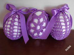 Easter Crochet, Crochet Baby, Knit Crochet, Easter Bunny, Easter Eggs, Easter Egg Pattern, Egg Tree, Fabric Yarn, Egg Decorating