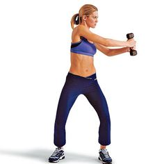 Total-body dumbbell workout