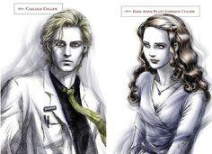 Dr. Carlisle Cullen and Esme Anne Platt Evenson Cullen ... love thier back story