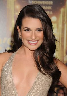 """Shiny Brunette    How-to: """"Boost your hair's ability to shine like Lea's starting in the shower. Treat your locks with a conditioner containing light-enhancing properties,"""" says beauty editor Jessica Prince.    Read more: Celebrity's Beauty Looks - Today's Beauty Secret - Harper's BAZAAR"""