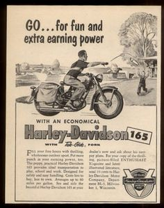 1954 Harley-Davidson 165