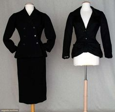 Two Christian Dior Garments, 1950 & 1954, Augusta Auctions, November 10, 2010 - St. Pauls - NYC, Lot 322
