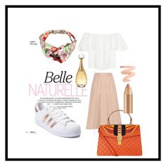 """Untitled #229"" by mrssofia on Polyvore featuring Valentino, adidas, Gucci and Christian Dior"