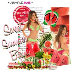 Watermelon Mood  #atomicjaneclothing