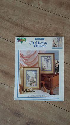 Weeping Wisteria Cross Stitch Chart Haruyo by BeesKneesCraft