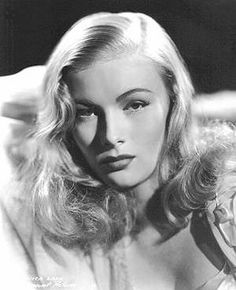 Veronica Lake- a good actress, but was was really amazing is that she changed her trademark hair style to support the war effort! Awesome!