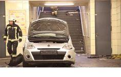 Carro entra em estação de metro a faz vários feridos em Berlim