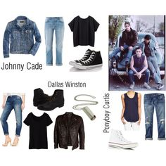 All the outfits for ❤️️Ponyboy❤️ Johnny Dally The Outsiders! All the outfits for ❤️️Ponyboy❤️ Johnny Dally The Outsiders! All the outfits for ❤️️Ponyboy❤️ Johnny Dally The Outsiders! All the outfits for ❤️️Ponyboy❤️ Johnny Dally The Outsiders! The Outsiders Greasers, The Outsiders Ponyboy, The Outsiders Imagines, Girl Greaser Outfit, 90s Outfit, Greaser Style, Casual Outfits, Girl Outfits, Cute Outfits