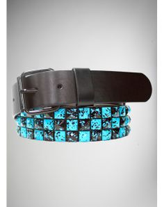 Checker and Splatter Belt Scene Girl Fashion, Pop Punk Fashion, Cute Emo Outfits, Rock Outfits, Studded Belt, Scene Hair, Gag Gifts, Belt Buckles, Jewelry Accessories