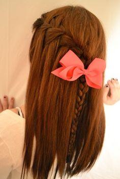 Beautiful-Waterfall-Braid-Hairstyle