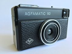 Oude Vintage Camera - Agfa Agfamatic 50 door CoolCameras op Etsy