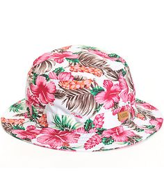 01dd32e0dd8 Take your style on a vacation with this lightweight silk-feel bucket hat  that features