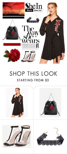 """""""6# SheIn"""" by hazreta1013 ❤ liked on Polyvore featuring WithChic"""