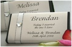 Designer Chocolates Melbourne Australia Personalised Wedding Chocolates Bonbonniere