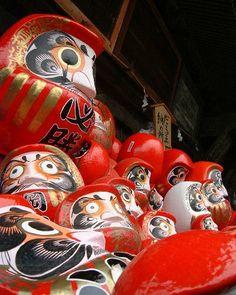 高崎・達磨寺のだるま