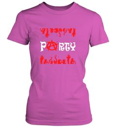 Anarchy Party T-shirt - Fabrily