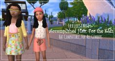 Accomplished Hair For the Kidz by leeleesims1 at SimsWorkshop • Sims 4 Updates