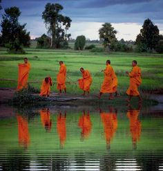 Thai monks- this dream to travel there comes true soon!