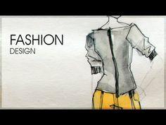 Projektowanie mody | odcinek 3 | projektowanie modelu - YouTube
