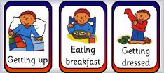Daily Communication Preschool | The Five Senses Display Cards: click on the image to download