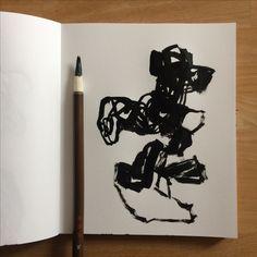 livre d'artiste peinture à l'encre de chine art abstrait olivier umecker 2017  www.olivierumecker.fr