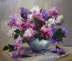 jarrones-con-flores-pintadas-al-oleo