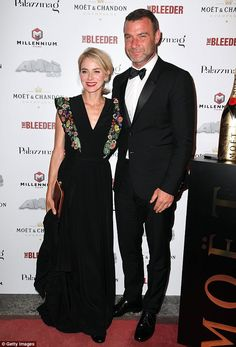 Naomi Watts looks as she cosies up to partner Liev Schreiber at Venice Film Festival   Daily Mail Online