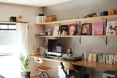 The Number One Question You Must Ask for Apartment Studio Bookcase Your studio could be small, but theres no reason it has to be boring. A studio sho. Home Office Space, Home Office Design, Small Furniture, Apartment Living, My Room, Room Inspiration, Sweet Home, Room Decor, Interior Design