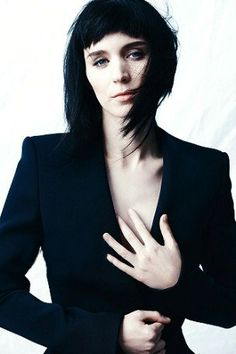Rooney Mara, The Girl with the Dragon Tattoo (loved the books & so far the first movie)