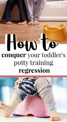 These tips for potty training regressions are so helpful. They helped us overcome my daughter's potty training issues and also gave us perspective with my son. Learn all about how to deal with your child's potty training regression today! Parenting Toddlers, Parenting Hacks, Potty Training Regression, Toddler Potty Training, Kids Sand, Toddler Discipline, Positive Discipline, Toilet Training, Kids Store