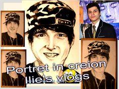 Portret in creion Ilie's vlogs / Ilie Bivol