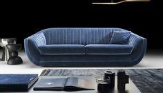 Sofa wpisująca się w najnowsze trendy meblarskie na rok 2019. Spora i masywna bryła, obita aksamitną tkaniną klasy premium, prezycyjnie dobraną przez naszych projektantów. #ArisConcept #sofa Sofa, Couch, Trendy, Furniture, Design, Home Decor, Instagram, Drawing Rooms, Homemade Home Decor