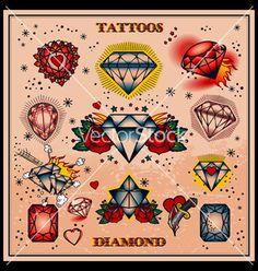 heart tattoo old school small Juwel Tattoo, Tatto Old, Flash Tattoo, Tattoo Drawings, Sternum Tattoo, Girly Tattoos, Love Tattoos, Beautiful Tattoos, Tatoos