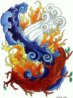 ... new tattoo idea...?Nature Elements New Tattoo Four Elements Tattoo