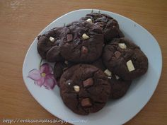 """Like """"Soft Kings"""". Best soft cookies ever Cookie Jars, Cake Cookies, Chocolate, Eat, Cooking, Desserts, Recipes, Food, Cakes"""