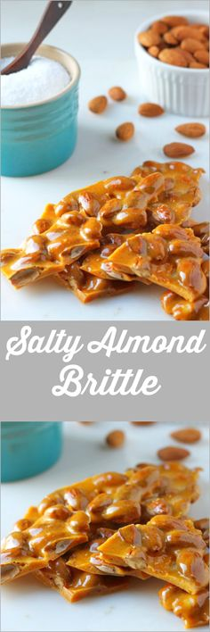 Easy Microwave Almond Brittle! In 5 minutes!